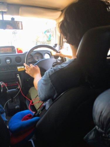 ジムニー 運転姿 隠し撮り