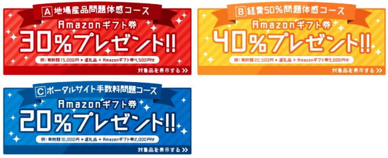 泉佐野市アマゾンギフト券40%のキャンペーン